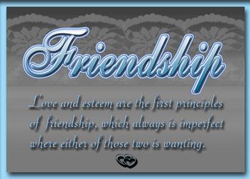 Love of Friend custom card cover