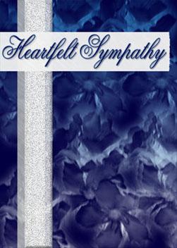 Heartfelt Sympathy card cover