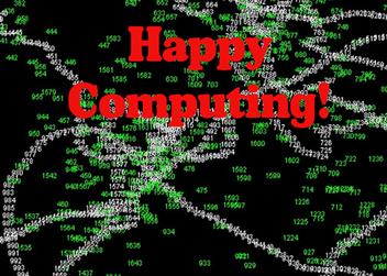 Happy Computing Custom Card Cover